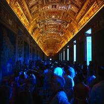 Ornate Gold Ceiling, Vatican