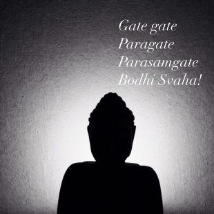 Buddha heart sutra