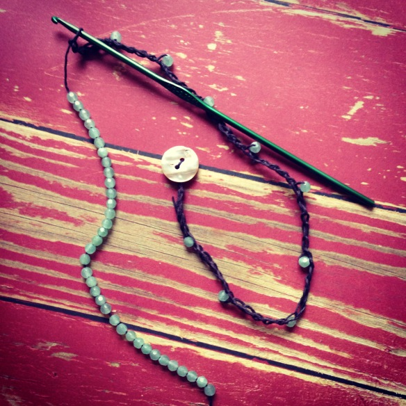 Hemp Aventurine Wrap Bracelet or Necklace Projecteasier.com