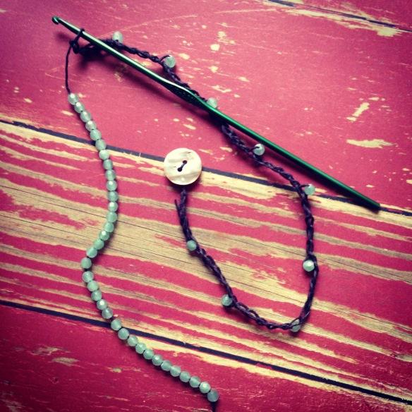 Hemp Aventurine Wrap Bracelet or Necklace Projecteasier.com