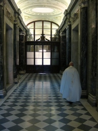Priest at the Vatican