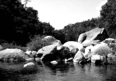 Candy Rock, Stanislaus River